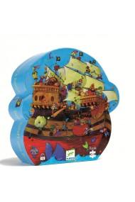 Puzzle corabia Barbarossa Djeco