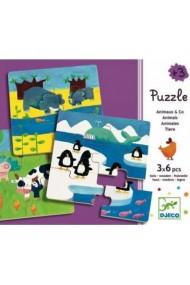 Puzzle Duo Animo Djeco