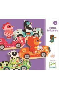 Puzzle interschimbabil vehicule Djeco