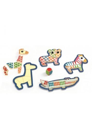 Puzzle lemn Bingonimo Djeco