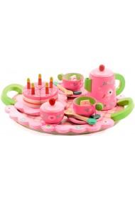 Set aniversar roz si verde Djeco
