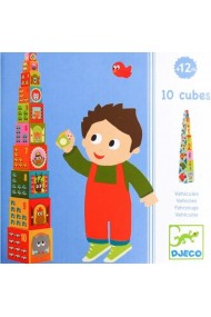 Turn de construit cu masini Djeco