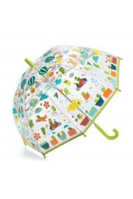 Umbrela copii colorata cu broscute Djeco