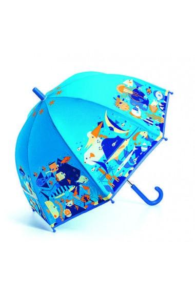 Umbrela copii colorata Ocean Djeco