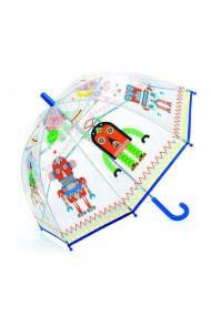 Umbrela copii cu roboti Djeco