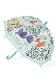 Umbrela copii flori si pasari Djeco