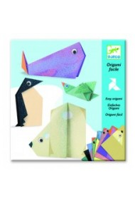 Creeaza origami animale polare Djeco