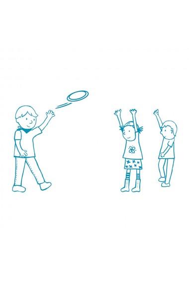 Disc frisbee zborul bufnitei Djeco
