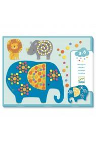 Mozaic joc creativ Jungla vesela Djeco
