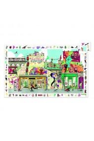 Puzzle observatie arta stradala Djeco