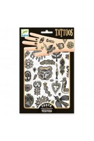Tatuaje copii Chic auriu Djeco