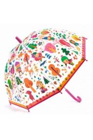 Umbrela copii colorata prin padure Djeco
