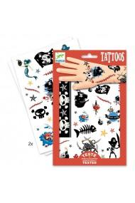 Tatuaje copii cu pirati Djeco