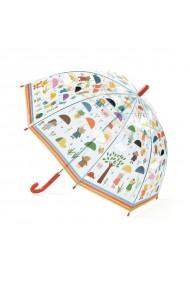 Umbrela copii in ploaie Djeco