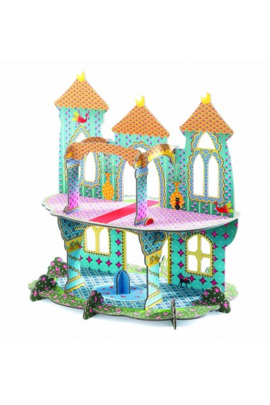 Castelul vrajit macheta 3D Djeco