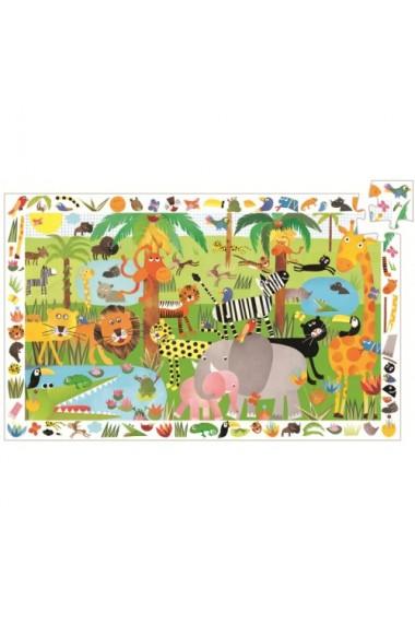 Puzzle observatie jungla Djeco