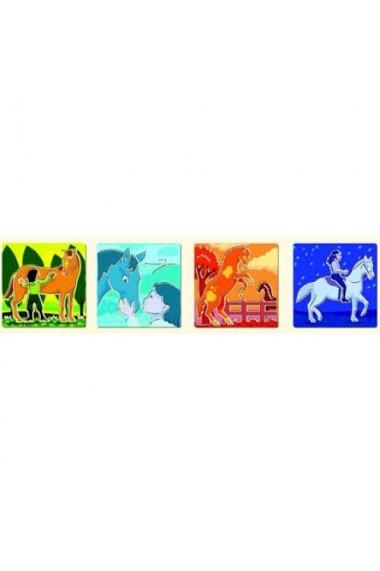 Sabloane de desen cu cai Djeco