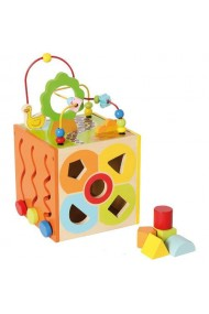 Jucarie de dexteritate cutiuta motrica Bino