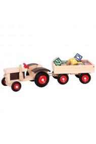 Tractor de lemn Bino