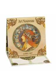 Etichete decorative Art Nouveau Fridolin