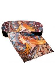 Etui ochelari cu textil si protectie Art Nouveau Fridolin