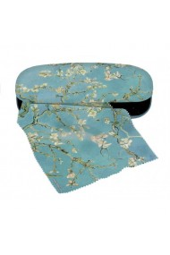 Etui ochelari cu textil si protectie Van Gogh ramuri inflorite Fridolin
