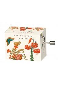 Flasneta Maria Sibylla Merian (fluturi) Tchaikovsky Walts of flowers Fridolin