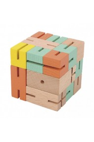 Joc logic 3D puzzle Boy verde Fridolin