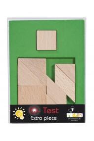 Joc logic din lemn extra piesa-3 Fridolin