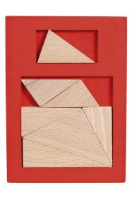 Joc logic din lemn extra piesa-4 Fridolin