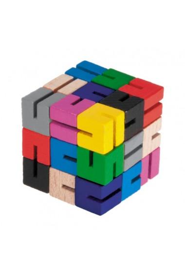 Joc logic Sudoku Cub colorat Fridolin
