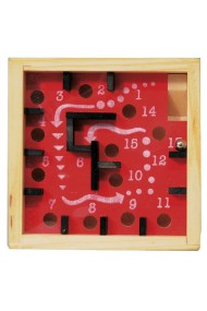 Labirint numerotat cu bila rosu Fridolin