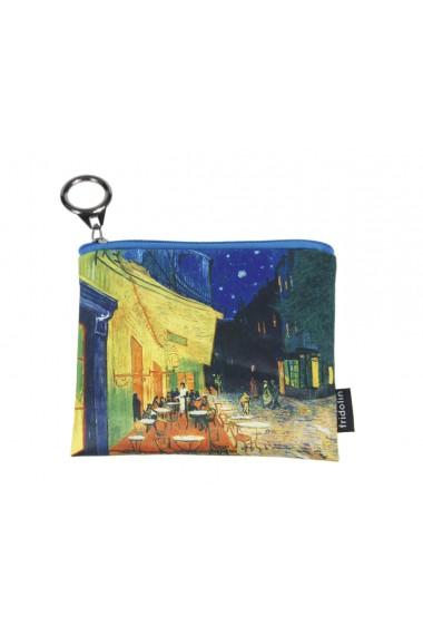 Portmoneu textil Van Gogh Cafe de nuit Fridolin