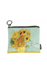 Portmoneu textil Van Gogh Sunflowers Fridolin