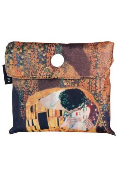 Sacosa textil Klimt The kiss Fridolin