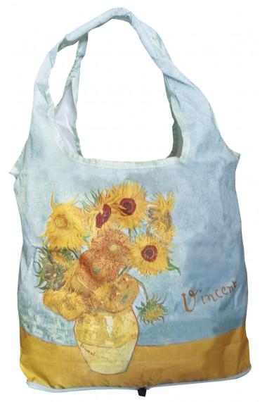 Sacosa textil Van Gogh Sunflowers Fridolin
