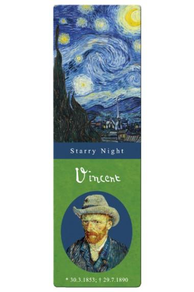 Semn de carte Van Gogh Starry night Fridolin