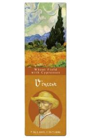 Semn de carte Van Gogh Wheatfield Fridolin