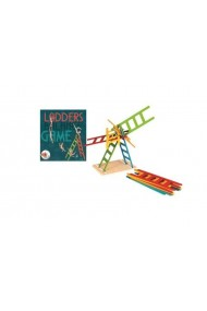 Joc de echilibru scari colorate Egmont Toys