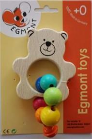 Jucarie bebe ursulet cu clopotel Egmont