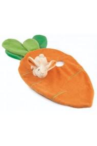 Jucarie doudou iepuras cu morcov Egmont