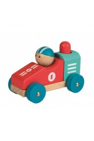 Masina lemn de curse Egmont Toys