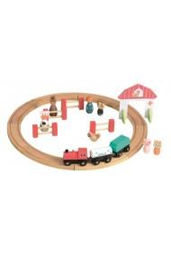 Circuit tren si figurine Egmont Toys