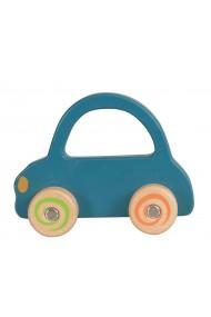 Masinuta lemn albastra Egmont Toys