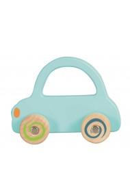 Masinuta lemn albastru deschis Egmont Toys