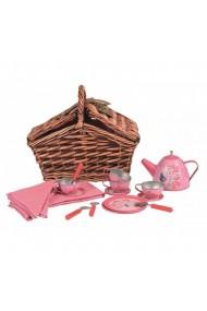 Set de ceai in cos impletit Egmont Toys