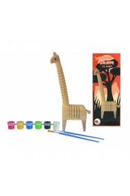 Set de pictat girafa din lemn Egmont Toys