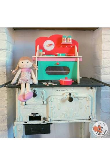 Mini bucatarie din lemn pentru copii Egmont Toys