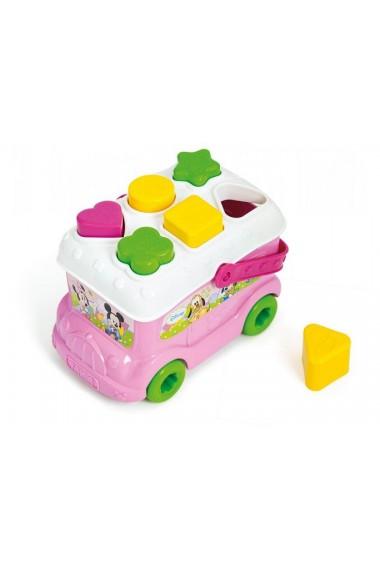 Autobuz de sortat forme Minnie Mouse Clementoni