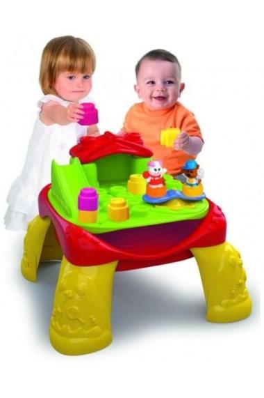 Masa de joaca cu cuburi Clementoni